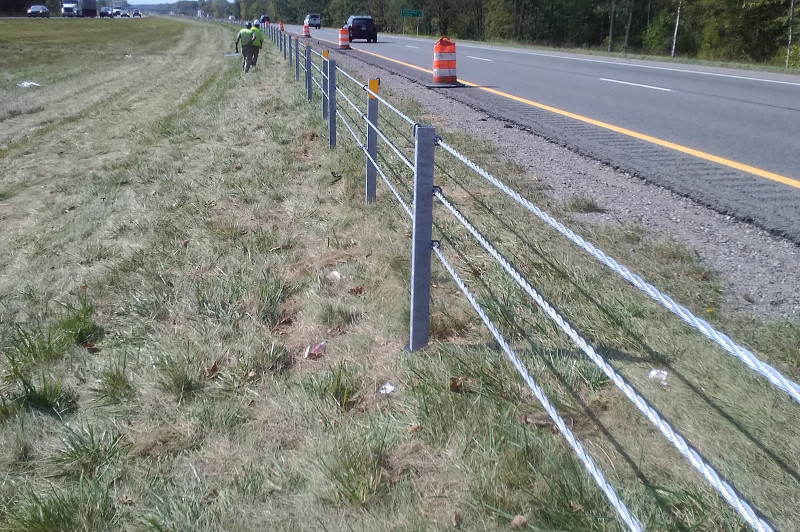 Nationwide Construction Group - Guard Rail